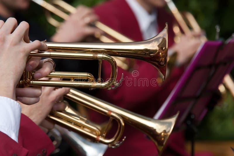 koncertowa trąbka zdjęcia stock