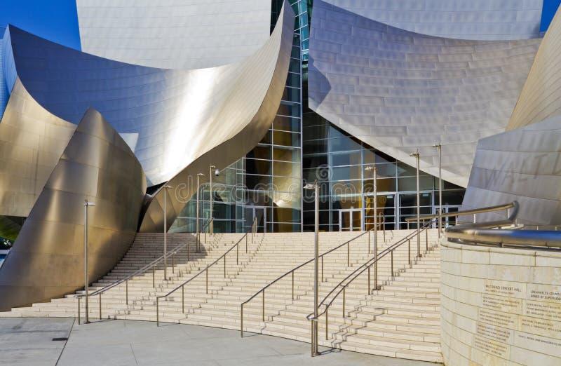 koncertowy Disney wejściowej sala magistrali walt obraz royalty free