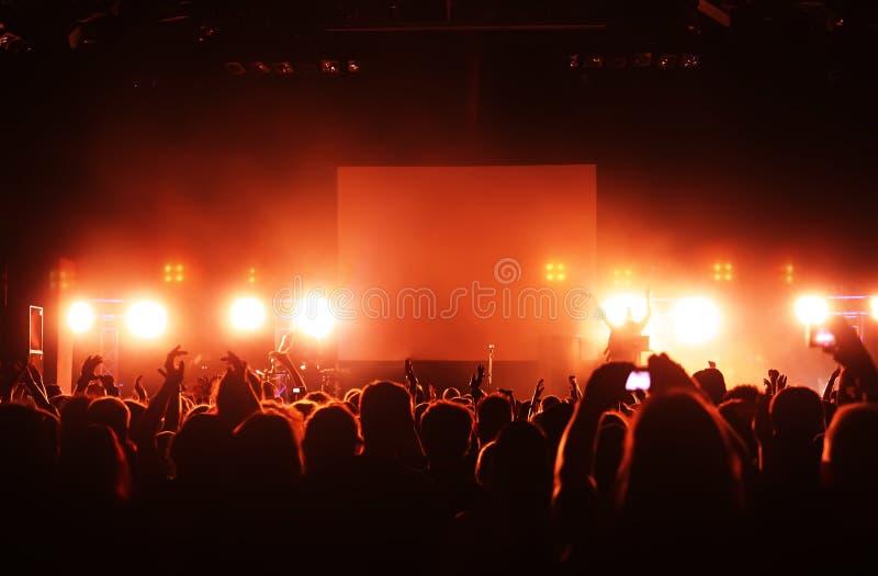 koncertowy tłum zdjęcie stock