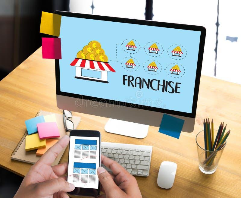 KONCESSIONmarknadsföring som brännmärker detaljhandel- och affärsarbetsbeskickning C fotografering för bildbyråer