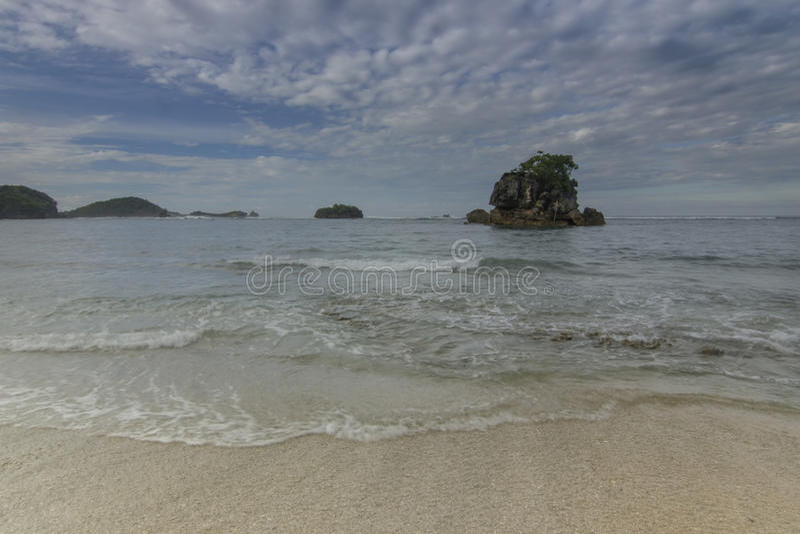 Kondang Merak Beach - Malang, Indonesia stock photo