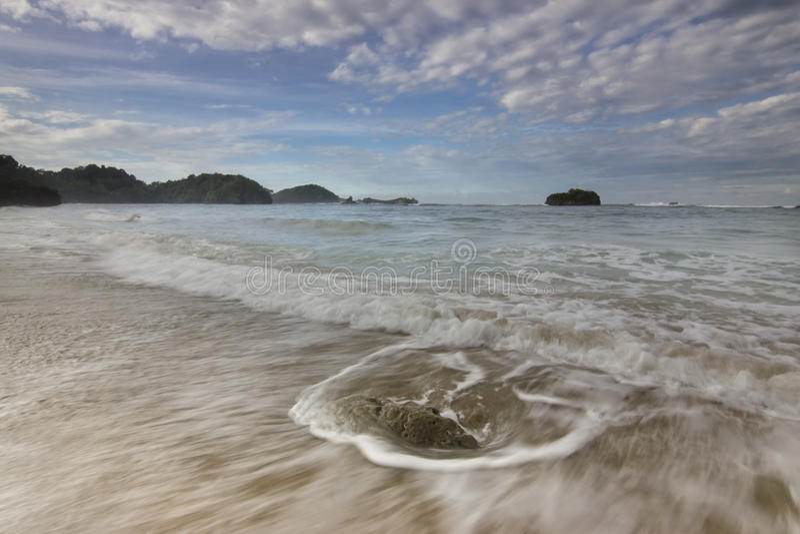 Kondang Merak Beach - Malang, Indonesia stock image