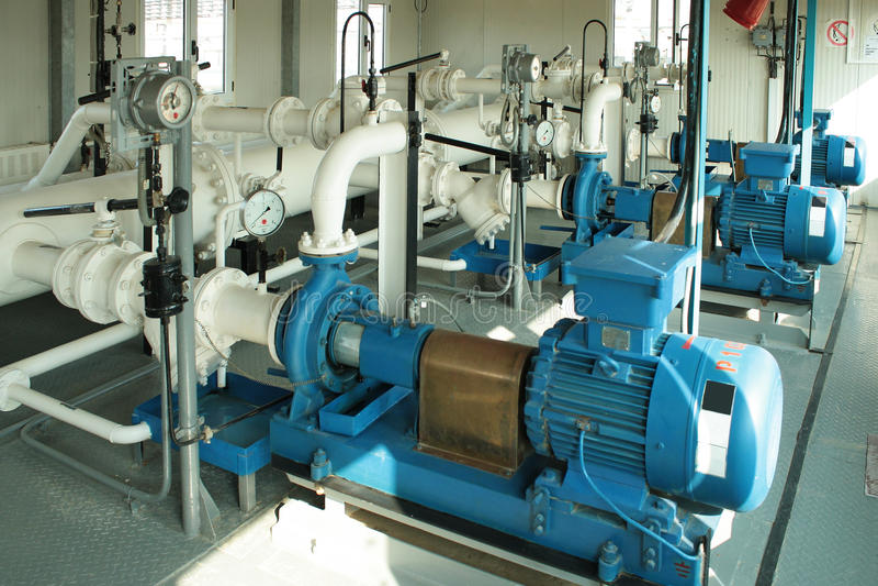 kondensata benzynowej pompy target152_0_ fotografia stock