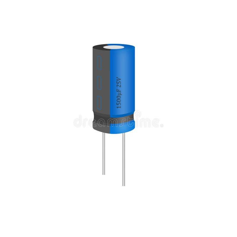 kondensator vektor illustrationer