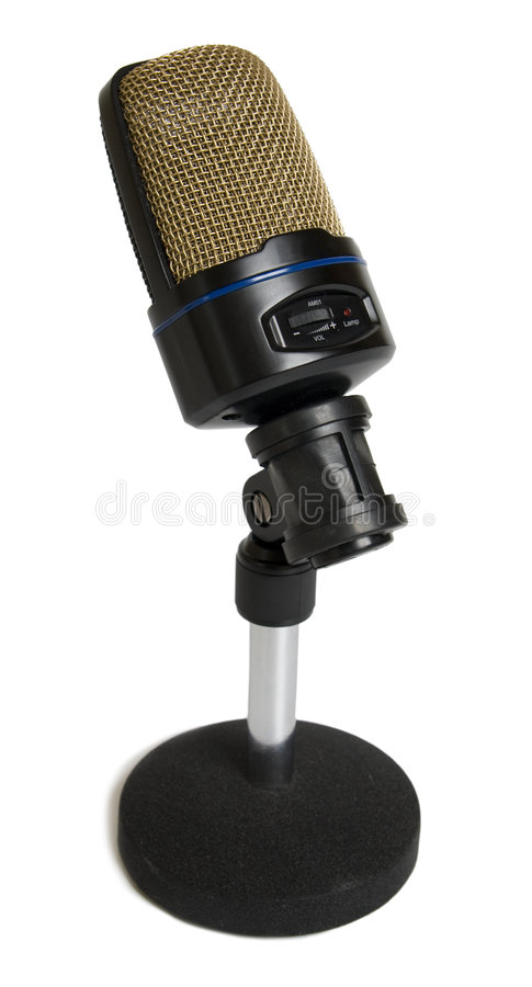 Kondensator-Mikrofon stockfotos