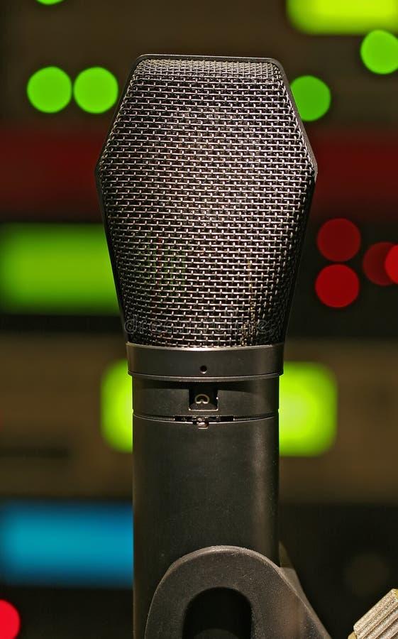 Kondensator-Mikrofon stockbilder