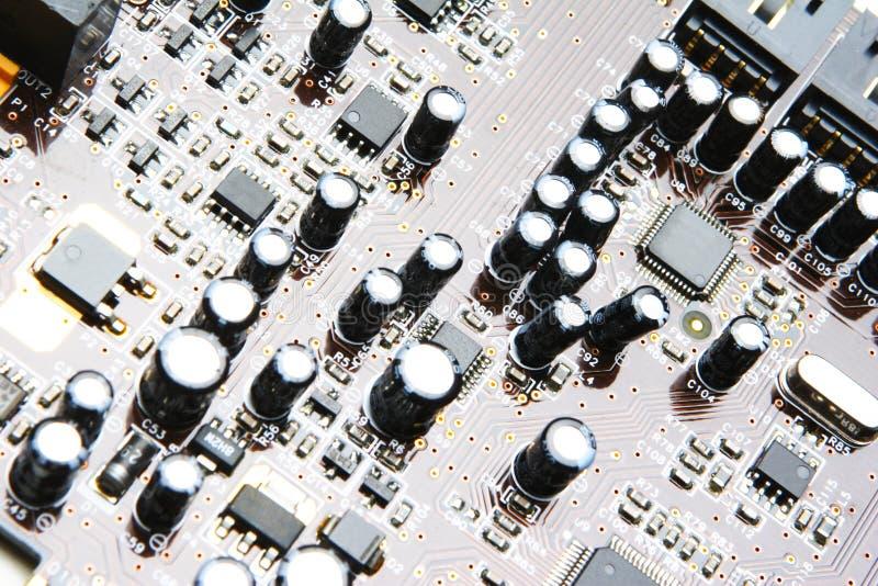 kondensatory deskowe elektronika obrazy royalty free