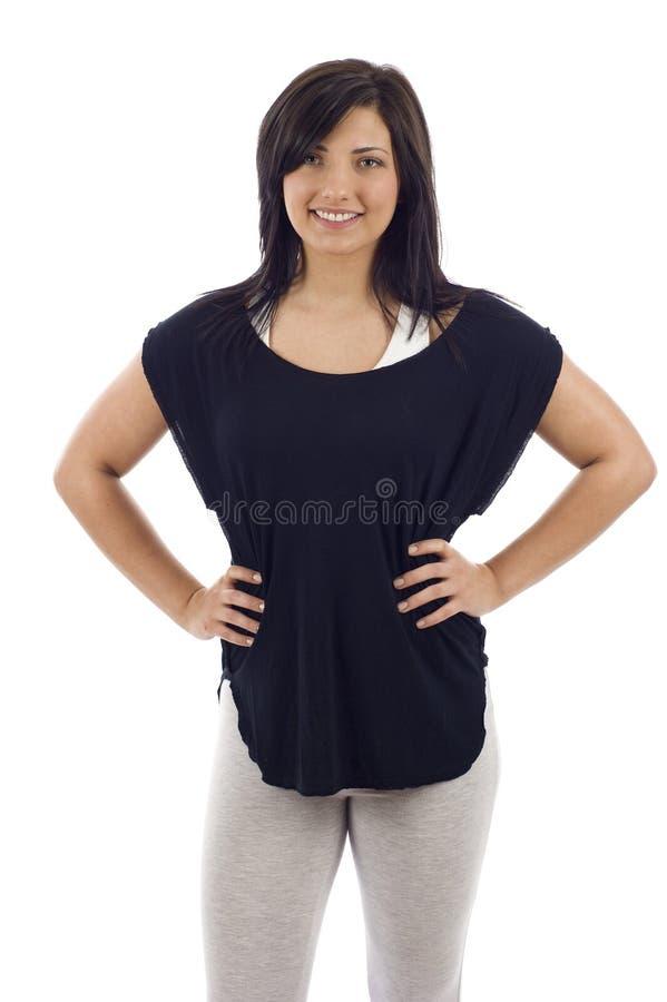 konditionkvinna arkivfoton