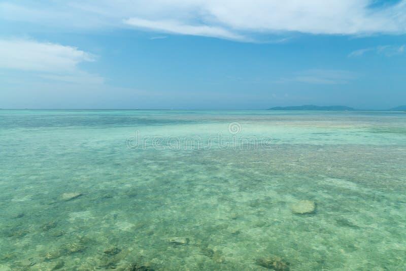 Kondoi-Strand in Taketomi-Insel, Okinawa Japan stockbilder