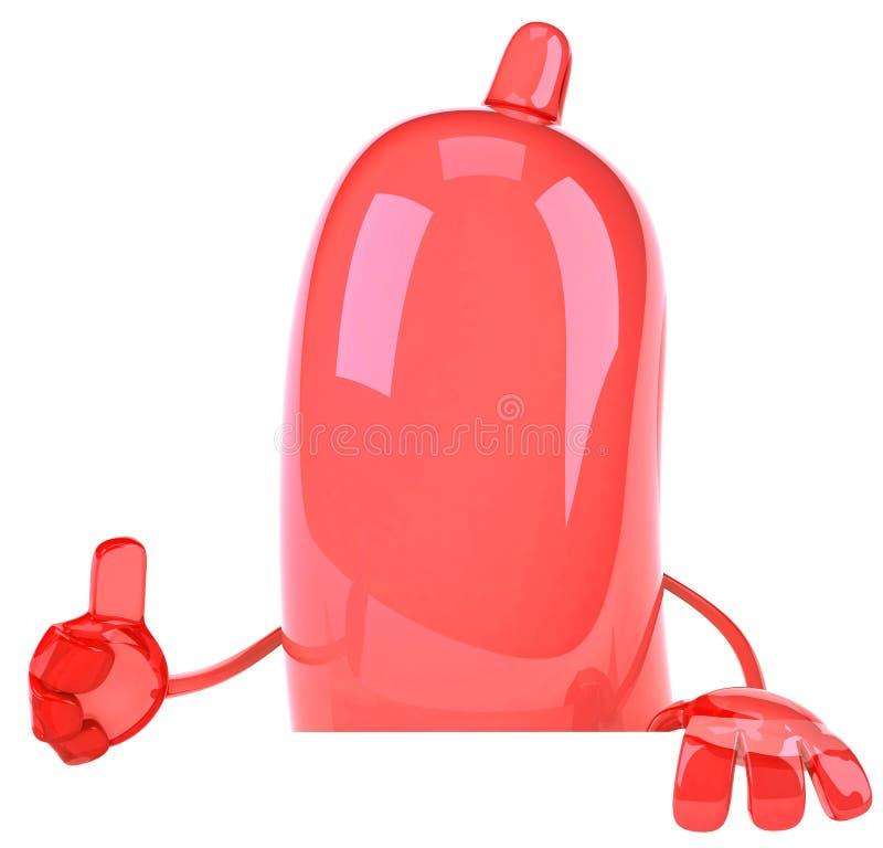 kondom ilustracja wektor