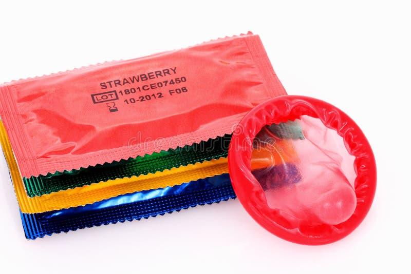 Kondom stockfoto