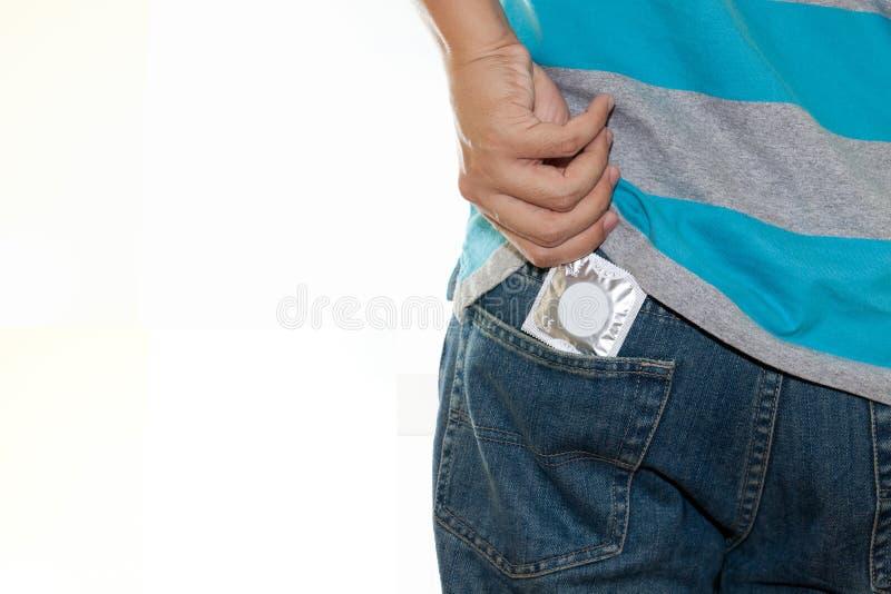 kondom kryjówka zdjęcia stock