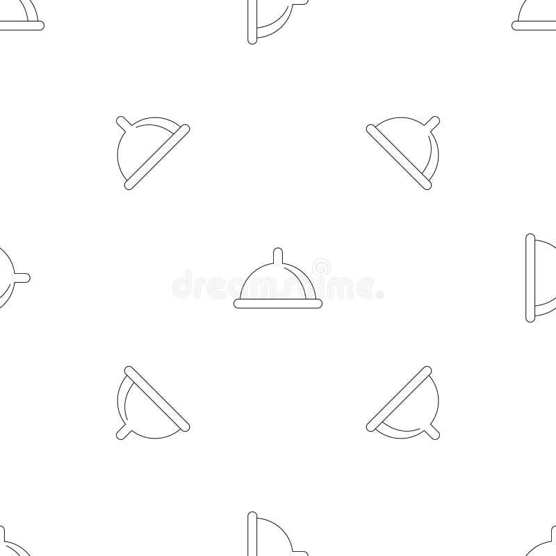 Kondoma deseniowy bezszwowy wektor ilustracja wektor