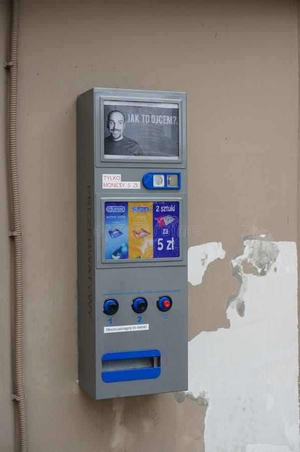 Kondomautomat redaktionelles stockbild. Bild von steuerung