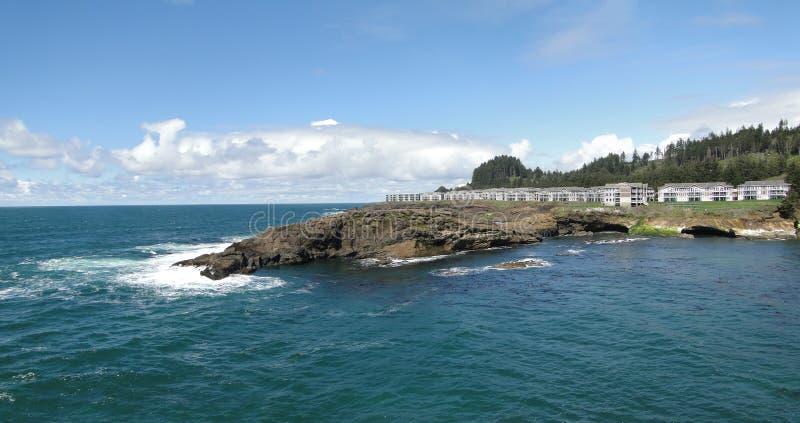 kondominium graniczący z oceanem zdjęcie stock