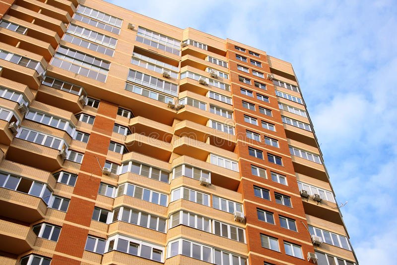 kondominium highrise obrazy stock