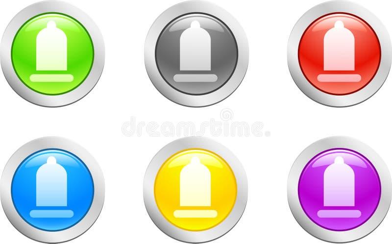 Download Kondomvektor vektor illustrationer. Illustration av beskriva - 3529667
