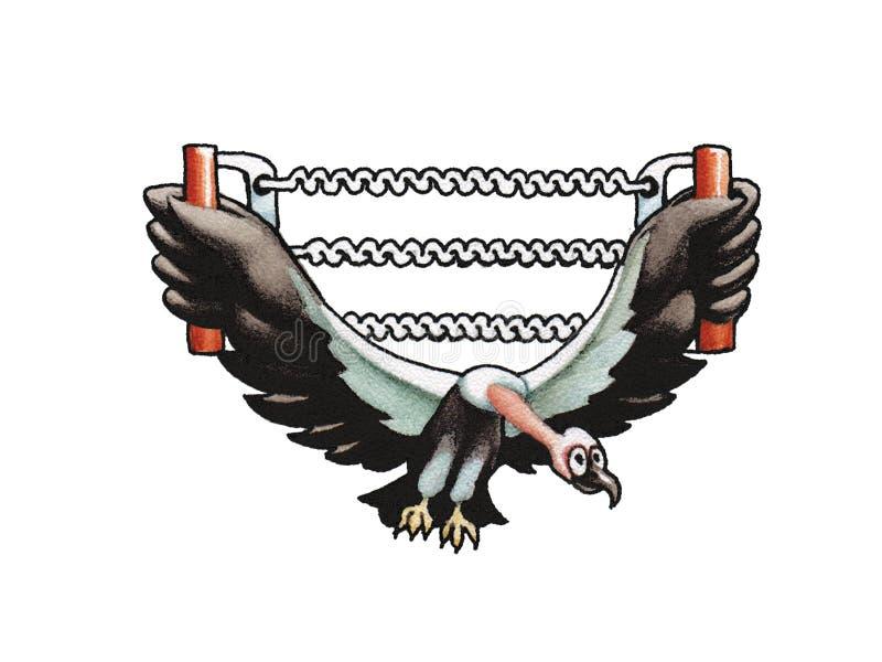 kondor royalty ilustracja