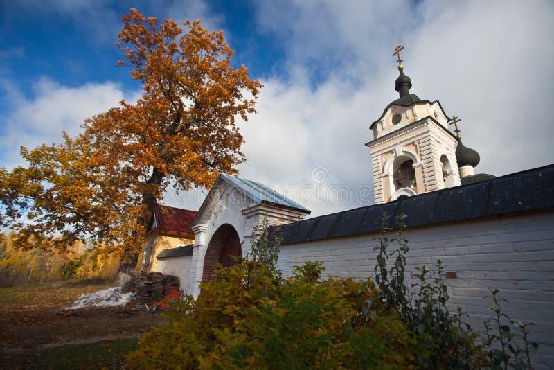 Konevsky kloster Den Kazan sketen arkivbilder