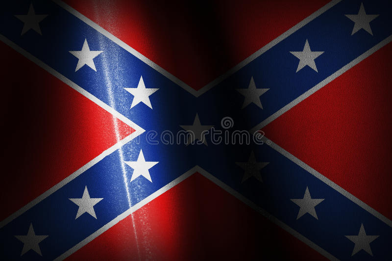 Konfederacyjnych flaga wizerunki fotografia stock