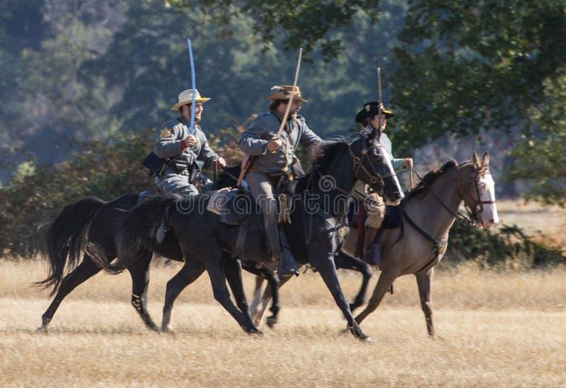 Konfederatów harcerstw przejażdżka przód obrazy stock