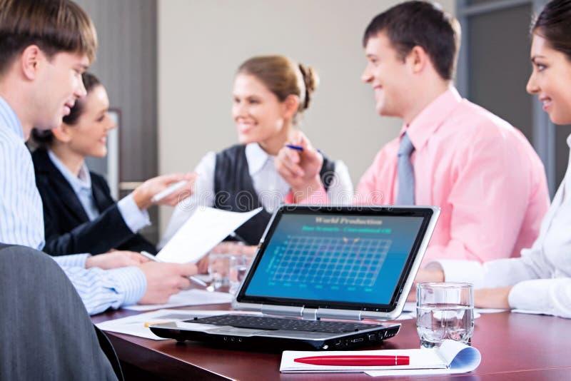 konferencja jednostek gospodarczych obraz stock