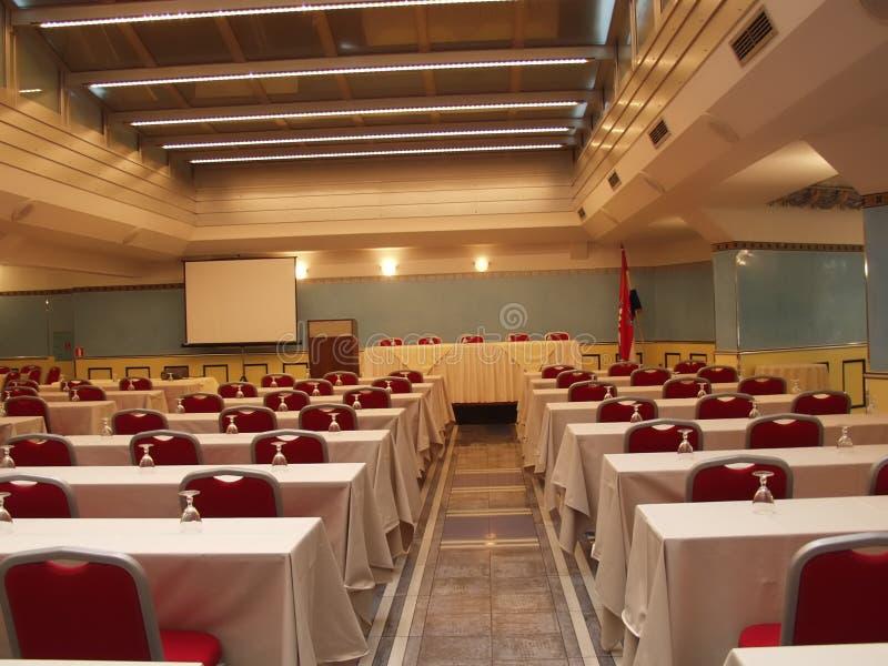 konferencja pusty pokój fotografia stock