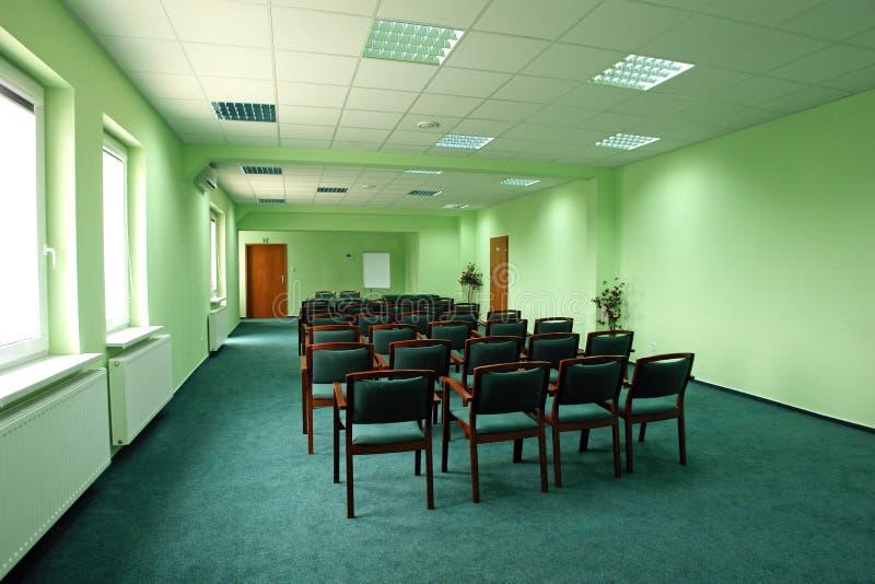 konferencja pusty pokój zdjęcie stock
