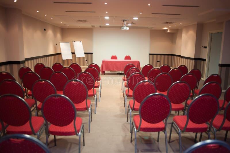 konferencja pusty pokój obraz royalty free
