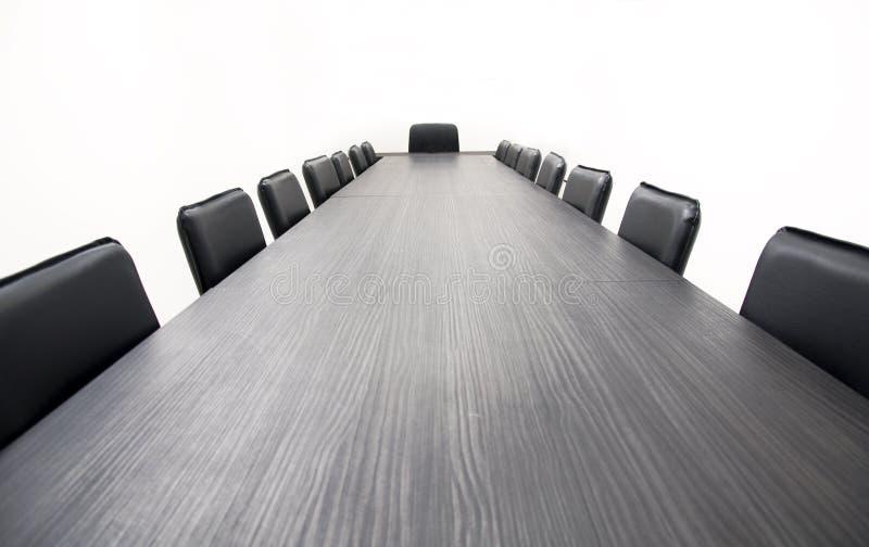 konferencyjny stół zdjęcia stock