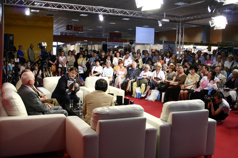 konferens royaltyfria foton