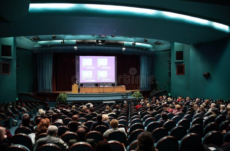 konferensfolk arkivfoto