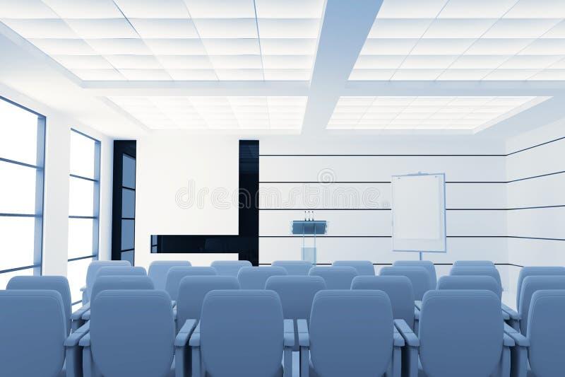konferenslokal stock illustrationer