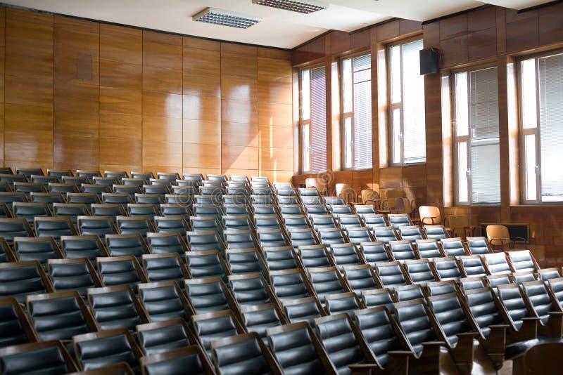 Konferenslokal arkivfoton
