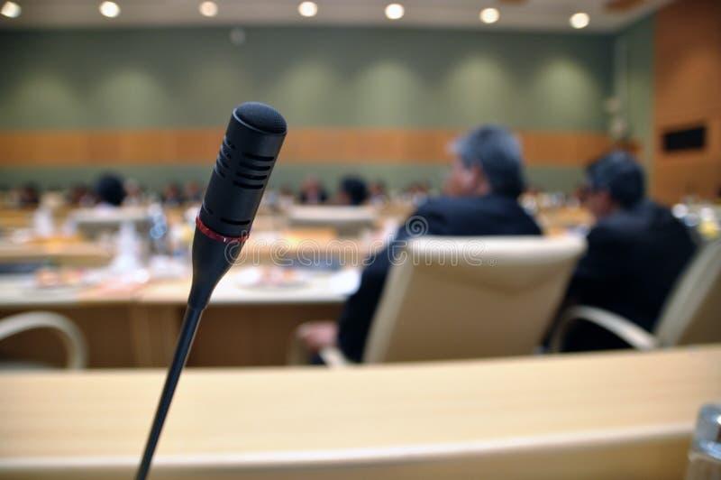 Konferenz lizenzfreie stockfotos