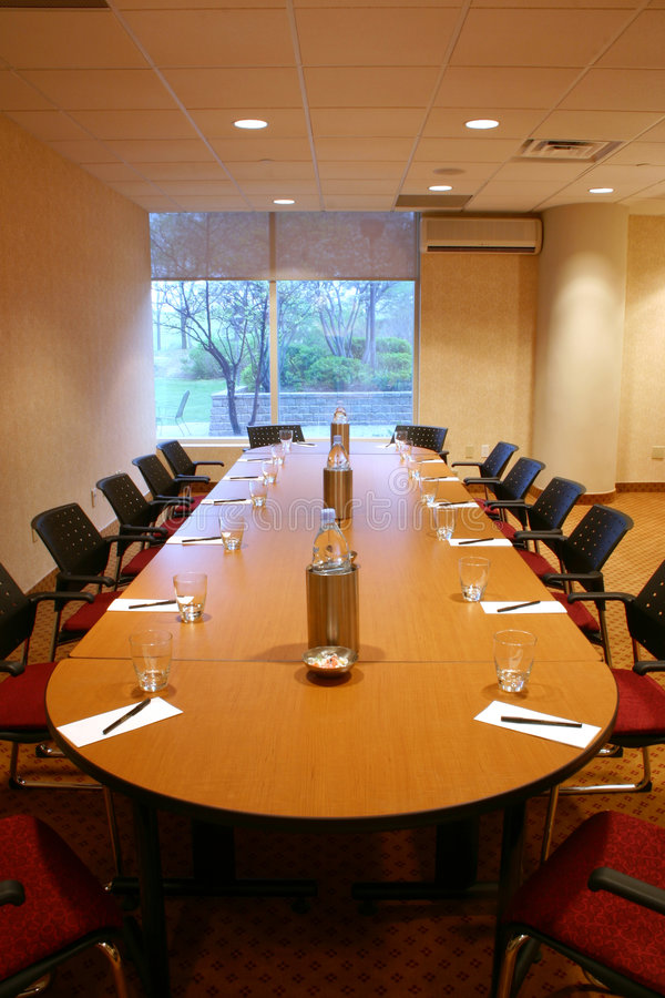 Konferenz/Konferenzzimmer stockbild