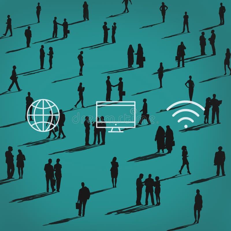 Konferenz-Sitzungs-Seminar-Ereignis-Strategie-Konzept lizenzfreie abbildung