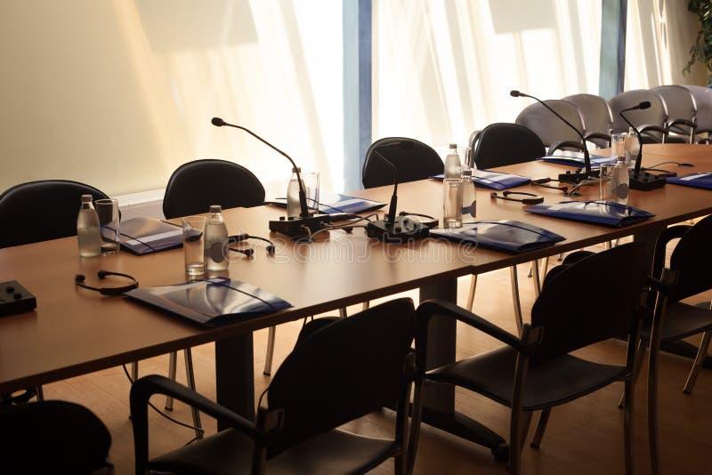 Konferenzsaal stockfotos