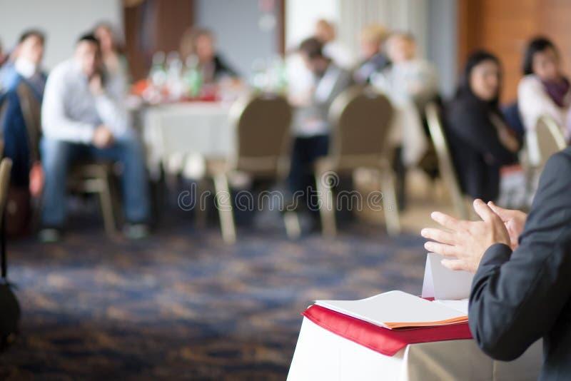 Konferenzsitzung lizenzfreie stockbilder