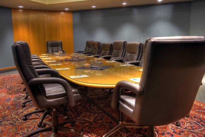 Konferenzsitzungs-Chefetage lizenzfreie stockfotos