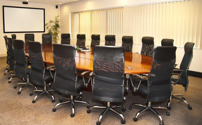 Konferenzzimmer lizenzfreie stockfotografie