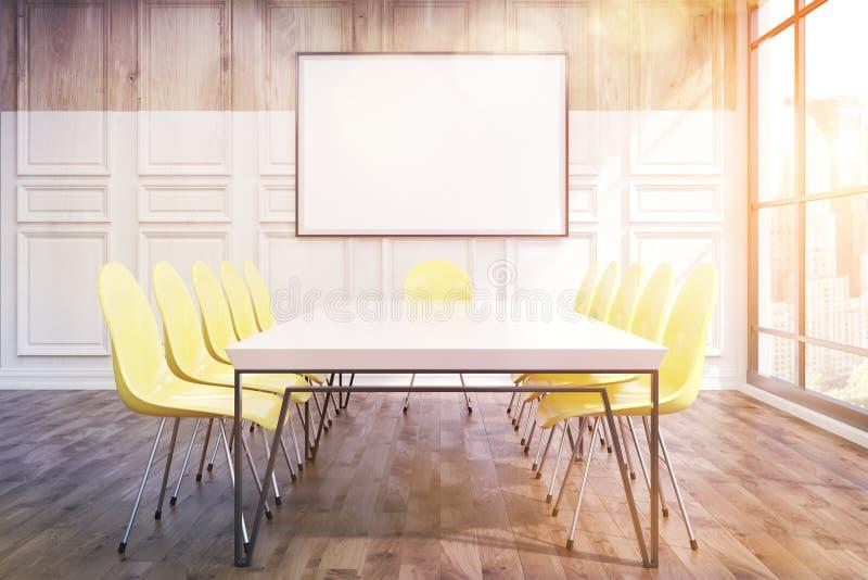 Konferenzzimmer im Büro stock abbildung