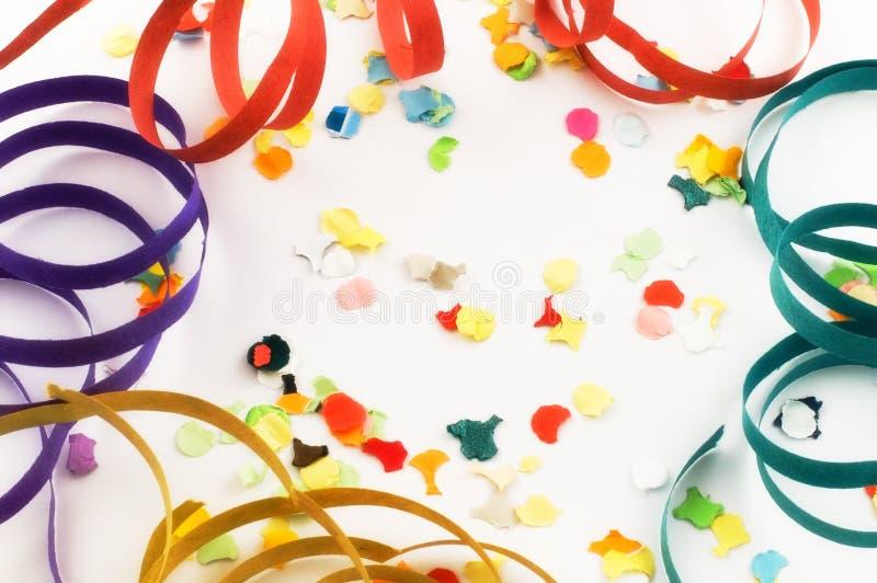 konfetti streamers zdjęcie royalty free