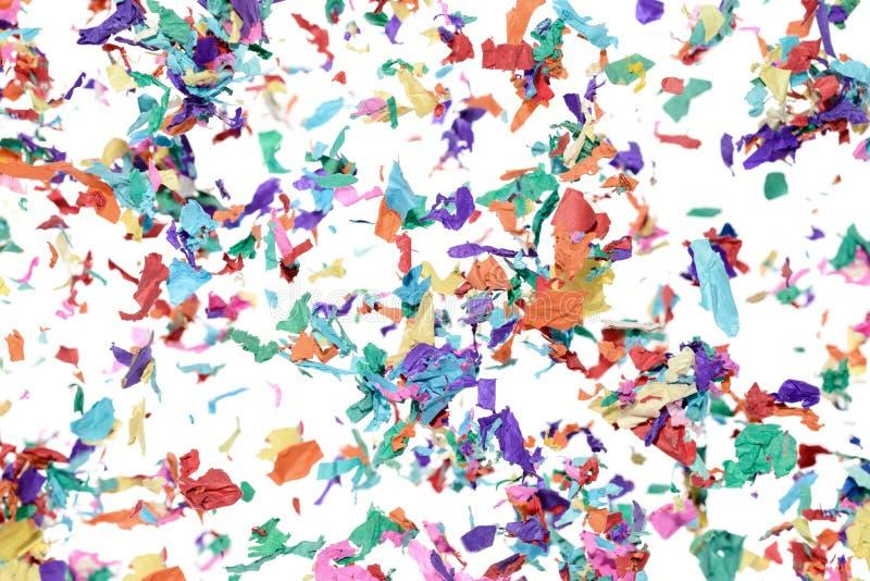 konfettiar royaltyfri fotografi