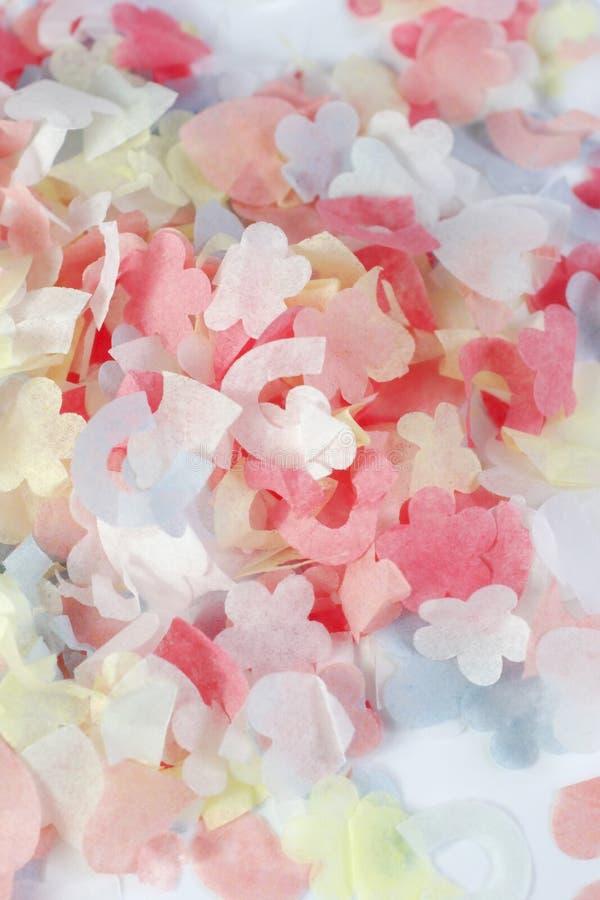 konfettiar arkivfoto