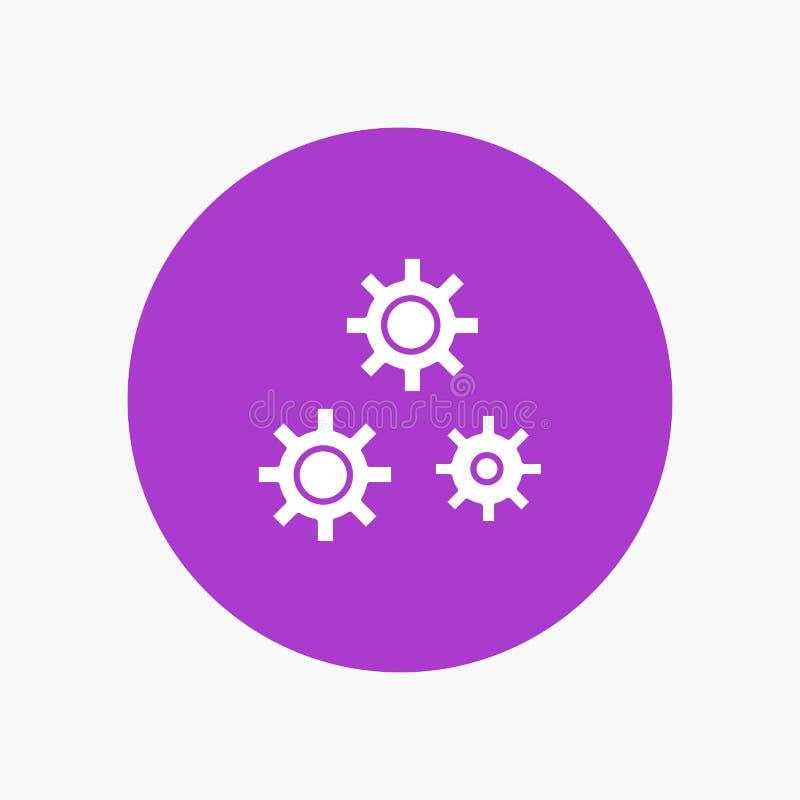 Konfiguration, Gänge, Präferenzen, Service lizenzfreie abbildung