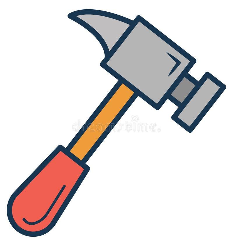 Konfiguration, Garage Werkzeug lokalisierte Vektor-Ikone kann leicht geändert werden oder redigieren lizenzfreie abbildung