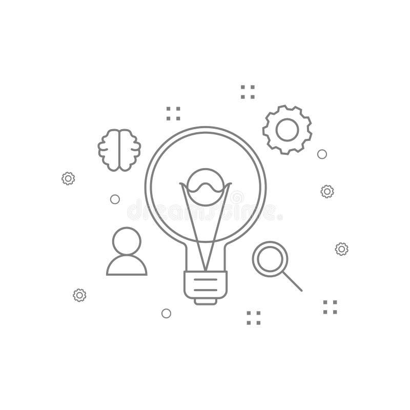 Konfiguration, kreativ, Wahlikone Element von ai-Ikonen für mobile Konzept und Netz Apps Dünne Linie Konfiguration, kreativ, vektor abbildung