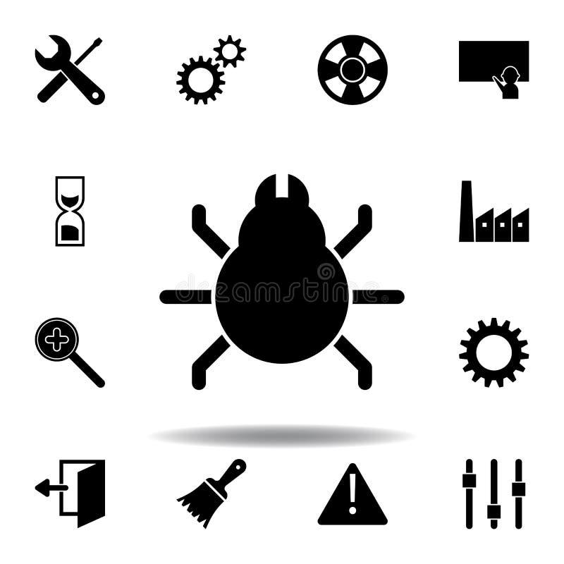 Konfiguration, Pr?ferenzen, Einstellungen, Werkzeugikone Zeichen und Symbole k?nnen f?r Netz, Logo, mobiler App, UI, UX verwendet stock abbildung