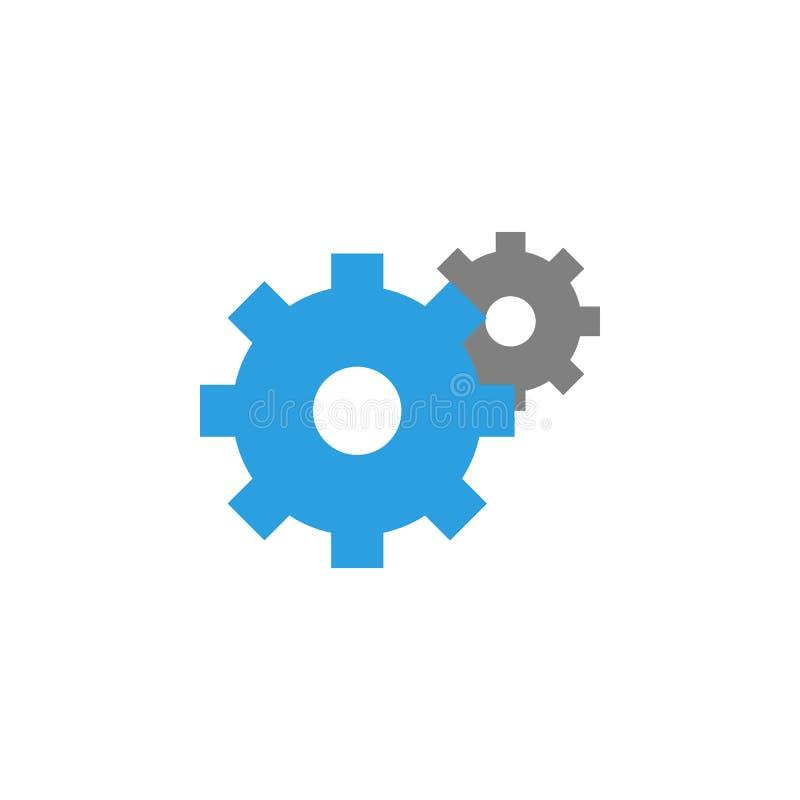 Konfiguration und Wahlikone Element der Benutzerschnittstellenikone für mobile Konzept und Netz Apps Ausführliche Konfiguration u stock abbildung